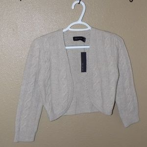 The Limited Cropped Open Front Sweater Sz Small